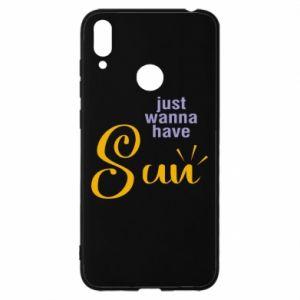 Etui na Huawei Y7 2019 Just wanna have sun