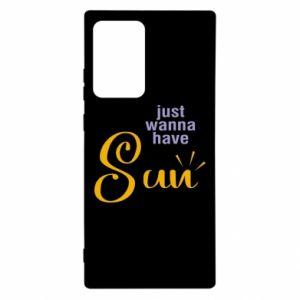 Etui na Samsung Note 20 Ultra Just wanna have sun