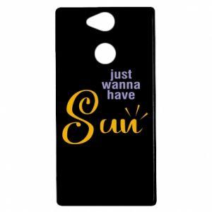 Etui na Sony Xperia XA2 Just wanna have sun