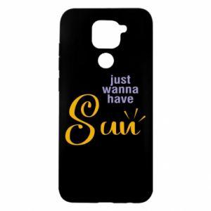 Etui na Xiaomi Redmi Note 9/Redmi 10X Just wanna have sun
