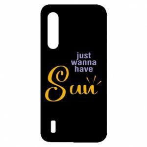 Etui na Xiaomi Mi9 Lite Just wanna have sun