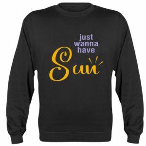 Bluza Just wanna have sun