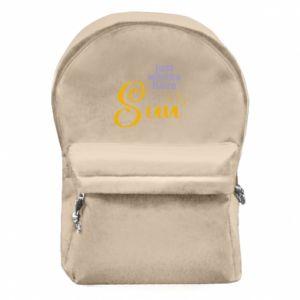 Plecak z przednią kieszenią Just wanna have sun