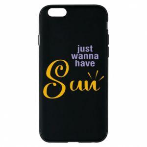 Etui na iPhone 6/6S Just wanna have sun