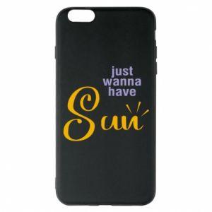 Etui na iPhone 6 Plus/6S Plus Just wanna have sun