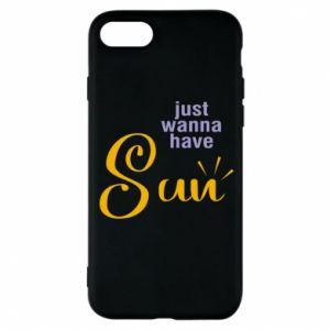 Etui na iPhone 8 Just wanna have sun