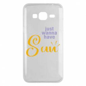 Etui na Samsung J3 2016 Just wanna have sun
