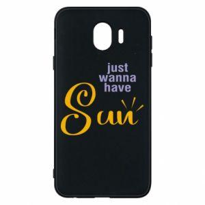 Etui na Samsung J4 Just wanna have sun