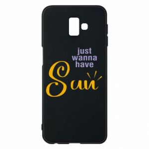 Etui na Samsung J6 Plus 2018 Just wanna have sun