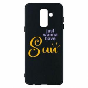 Etui na Samsung A6+ 2018 Just wanna have sun