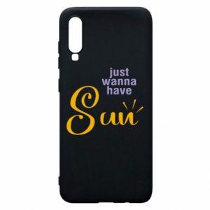 Etui na Samsung A70 Just wanna have sun