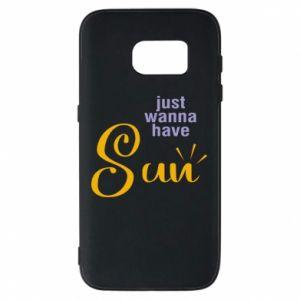 Etui na Samsung S7 Just wanna have sun