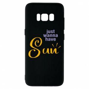 Etui na Samsung S8 Just wanna have sun