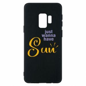 Etui na Samsung S9 Just wanna have sun