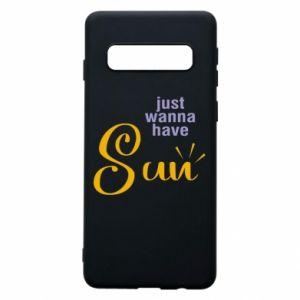 Etui na Samsung S10 Just wanna have sun