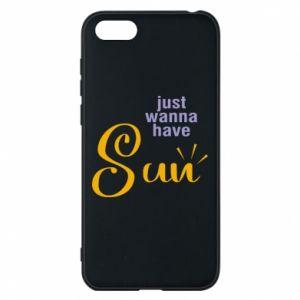 Etui na Huawei Y5 2018 Just wanna have sun