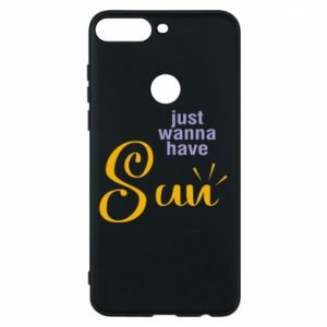 Etui na Huawei Y7 Prime 2018 Just wanna have sun