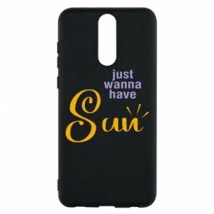 Etui na Huawei Mate 10 Lite Just wanna have sun
