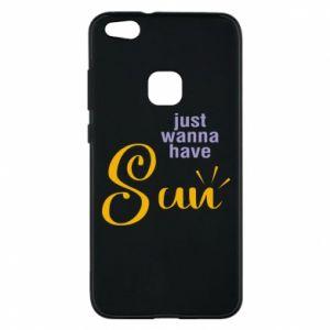 Etui na Huawei P10 Lite Just wanna have sun
