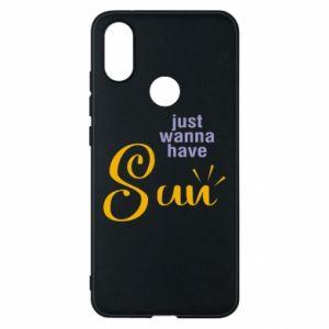 Etui na Xiaomi Mi A2 Just wanna have sun