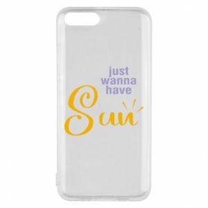Etui na Xiaomi Mi6 Just wanna have sun