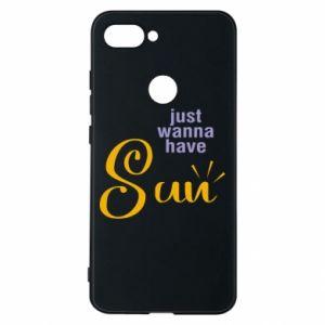 Etui na Xiaomi Mi8 Lite Just wanna have sun