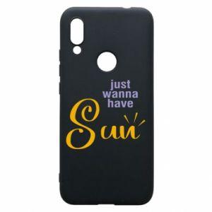 Etui na Xiaomi Redmi 7 Just wanna have sun