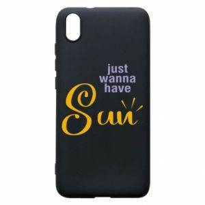 Etui na Xiaomi Redmi 7A Just wanna have sun