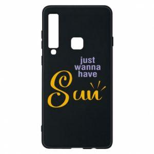 Etui na Samsung A9 2018 Just wanna have sun