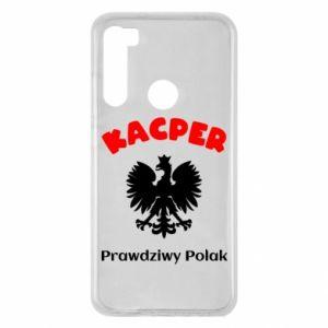 Phone case for Samsung J4 Plus 2018 Kacper is a real Pole - PrintSalon