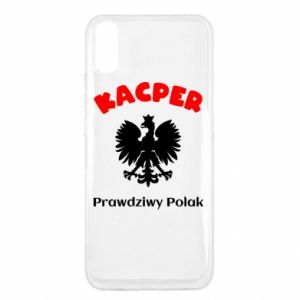 Phone case for Samsung J6 Kacper is a real Pole - PrintSalon