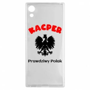 Phone case for Samsung A40 Kacper is a real Pole - PrintSalon