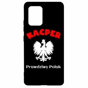 Phone case for Samsung A70 Kacper is a real Pole - PrintSalon