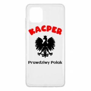 Phone case for Samsung A80 Kacper is a real Pole - PrintSalon