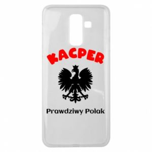 Phone case for Samsung S9 Kacper is a real Pole - PrintSalon