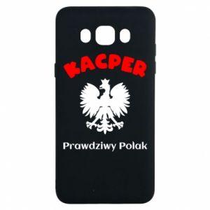 Phone case for Samsung S10 Kacper is a real Pole - PrintSalon