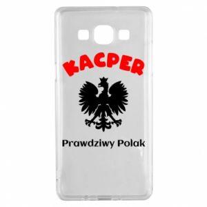 Phone case for Samsung S10+ Kacper is a real Pole - PrintSalon