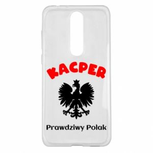 Phone case for Huawei Y7 Prime 2018 Kacper is a real Pole - PrintSalon