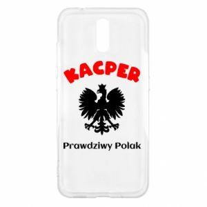 Phone case for Huawei P Smart Kacper is a real Pole - PrintSalon