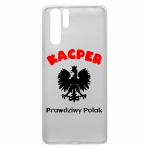 Phone case for Huawei P20 Kacper is a real Pole - PrintSalon