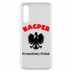 Phone case for Huawei P30 Kacper is a real Pole - PrintSalon