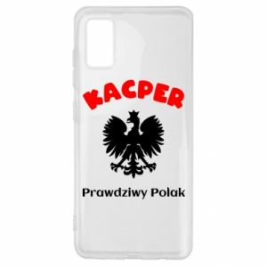 Phone case for Xiaomi Mi8 Lite Kacper is a real Pole - PrintSalon