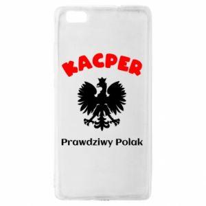 Phone case for Samsung A6 2018 Kacper is a real Pole - PrintSalon
