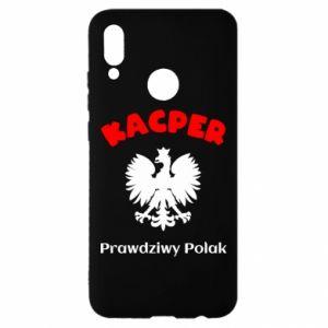 Phone case for Samsung A7 2018 Kacper is a real Pole - PrintSalon