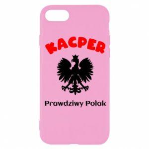 Phone case for Samsung A9 2018 Kacper is a real Pole - PrintSalon