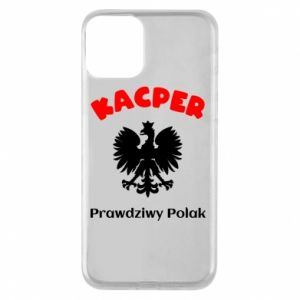 Phone case for iPhone 8 Kacper is a real Pole - PrintSalon