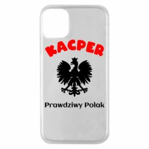 Phone case for iPhone 8 Plus Kacper is a real Pole - PrintSalon