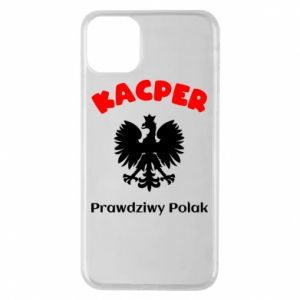 Phone case for iPhone X/Xs Kacper is a real Pole - PrintSalon