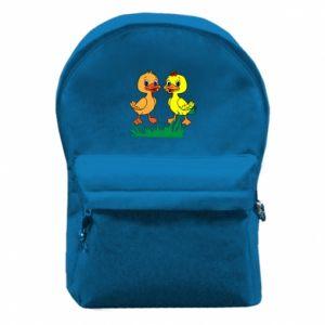 Plecak z przednią kieszenią Kaczątka