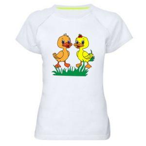 Women's sports t-shirt Ducklings